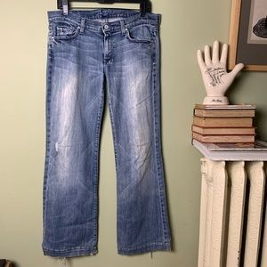7 for All Mankind DOJO Jeans 31 *See details*